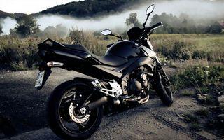 Фото бесплатно мотоцикл, горы, местность