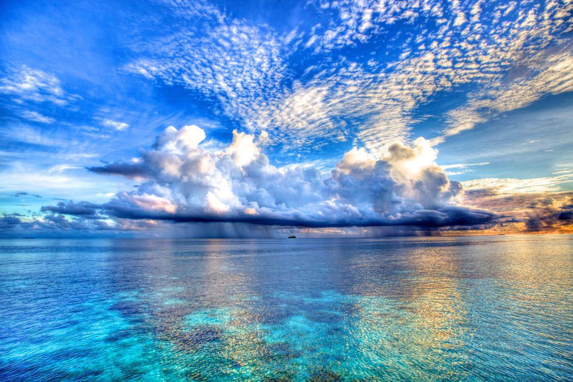 Фото бесплатно пейзаж, небо, море - на рабочий стол