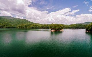 Бесплатные фото вода,река,деревья,лес,небо,облака,природа