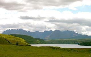 Бесплатные фото вода,река,озеро,трава,берег,горы,скалы