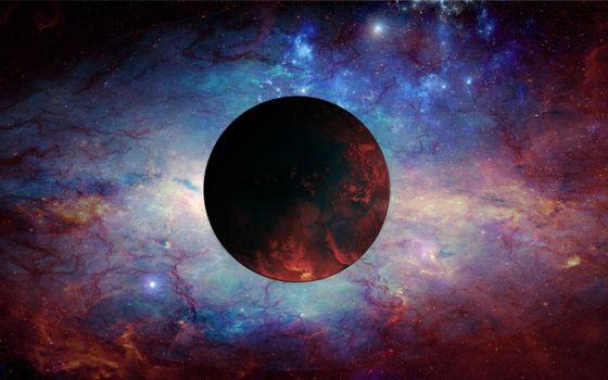 Бесплатные фото планета,новая,звезды,газ,туманность,кислород,органика,космос