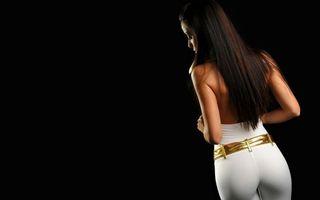 Бесплатные фото девушка, брюнетка, фигура, стиль, облегающая, одежда, штаны