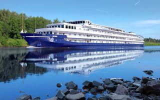 Фото бесплатно корабль, катер, этажи