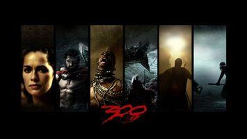 Фото бесплатно 300 спартанцев, исторический, бои