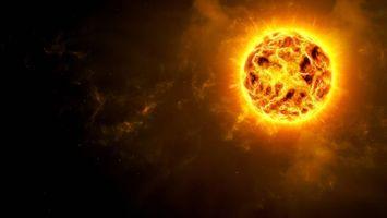 Фото бесплатно звезда, солнце, галактика