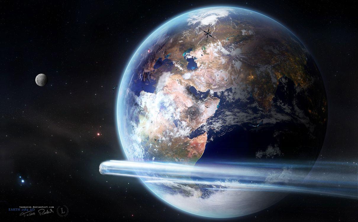 Фото бесплатно астероид, 2013, планета, земля, прохождение, высота, 18 000 миль, космос, космос - скачать на рабочий стол