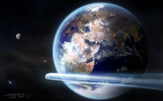 Фото бесплатно астероид, 2013, планета