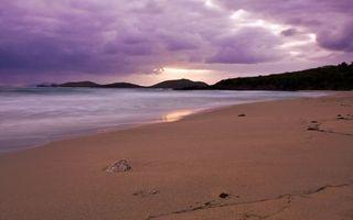 Заставки берег, песок, небо