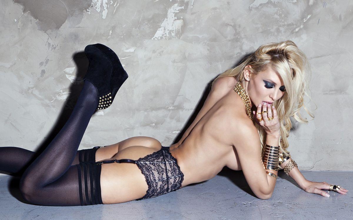 Фото бесплатно блондинка, нижнее, белье - на рабочий стол
