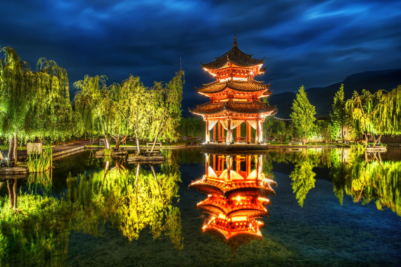 китайский пейзаж обои на рабочий стол № 501936 загрузить