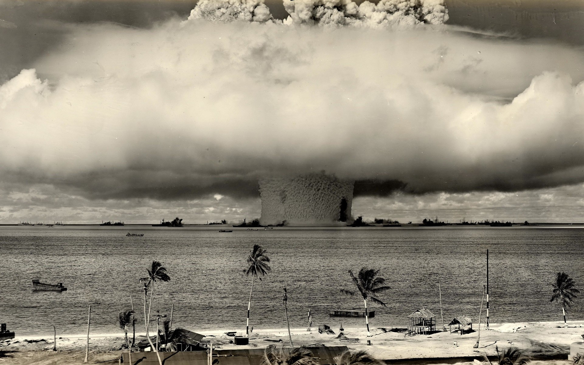 взрыв, водородной, бомбы