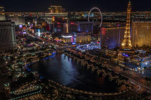 Фото бесплатно огни, город, Лас-Вегас