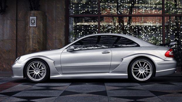 Photo free Mercedes, silver, doors
