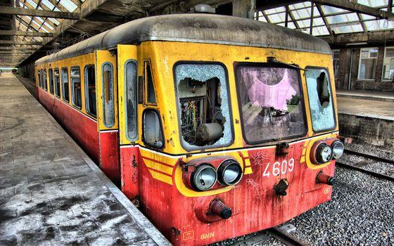 Photo free metro, train, glass