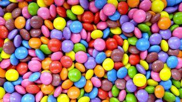 Бесплатные фото много,конфет,разноцветные,глазурь,сладость,еда