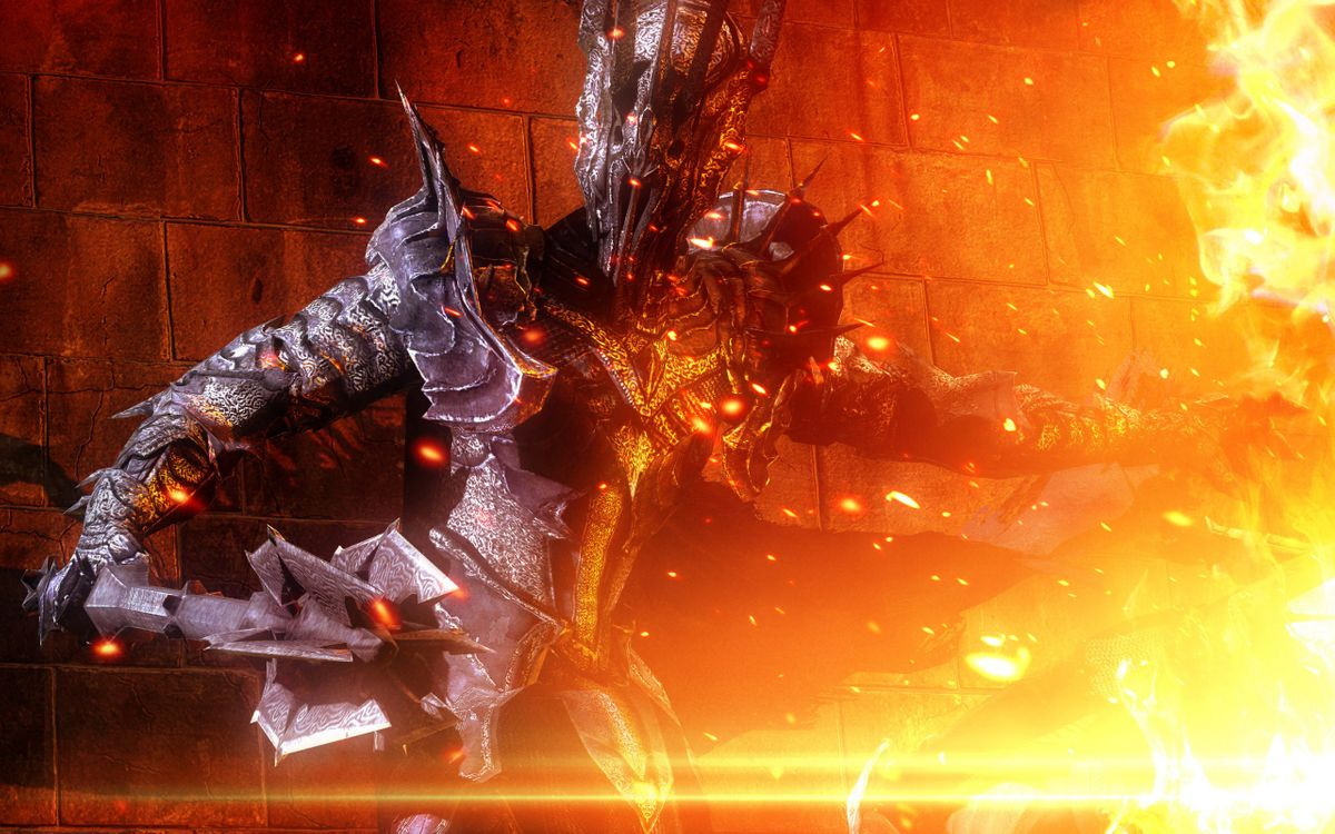 Фото бесплатно монстр, огонь, пламя - на рабочий стол
