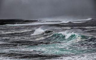 Фото бесплатно море, океан, вода, волны, брызги, пена, природа