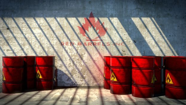 Photo free flammable, room, barrels