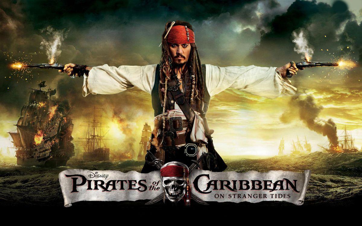 Фото бесплатно пираты карибского моря, джони депп, актер - на рабочий стол