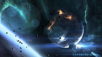 Бесплатные фото планета,земля,астероиды,камни,метеориты,спутник,луна