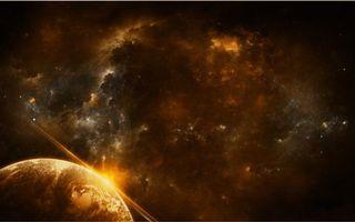 Бесплатные фото планета,земля,поверхность,свет,лучи,солнце,звезды