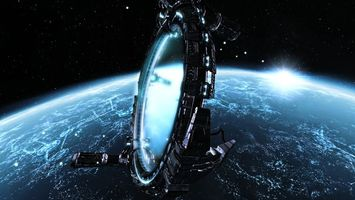 Бесплатные фото планета,земля,солнце,спутник,орбита,строение,звезды