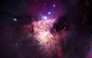 Фото бесплатно туманность, галактика, звезды