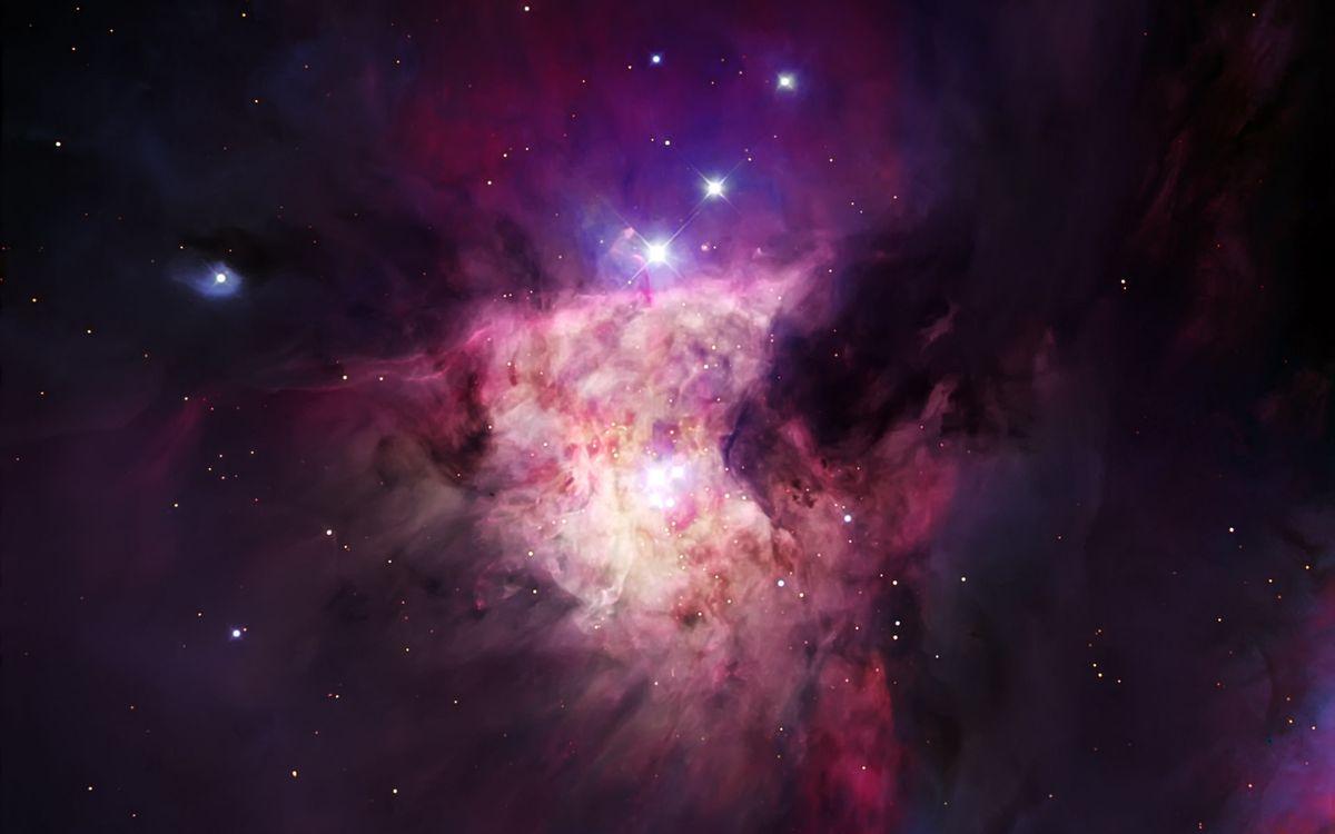 Фото бесплатно туманность, галактика, звезды - на рабочий стол