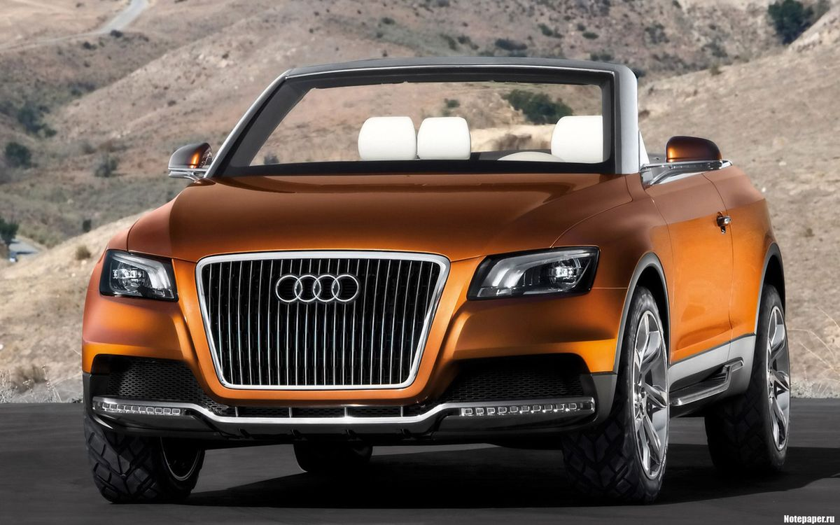Photos for free Audi, SUV, tires - to the desktop