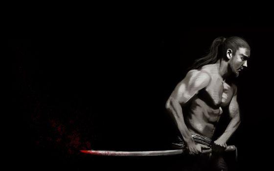 Фото бесплатно человек, воин, мышцы