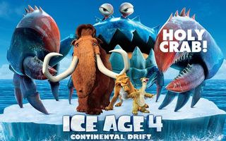Бесплатные фото мультфильм,ледниковый,период 4,ice age 4,holy crab