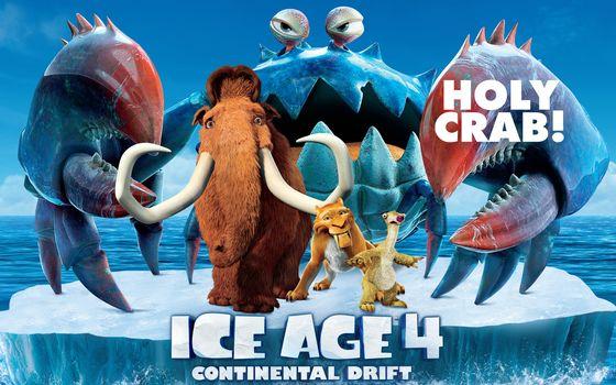 Заставки мультфильм, ледниковый, период 4