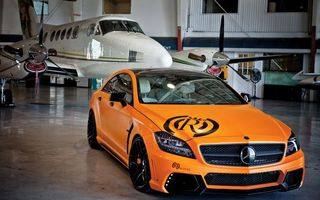 Photo free mercedes benz, tuning, orange
