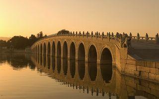 Бесплатные фото мост,река,вода,небо,деревья,пейзажи