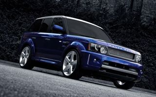 Photo free range rover, car, wheels