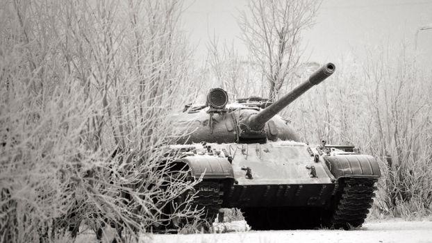 Бесплатные фото танк,зима,пушка,иней,снег,лед,гусеницы,маскировка,броня,оружие