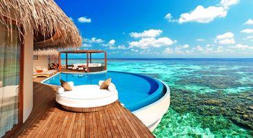Photo free tropics, maldives, sea