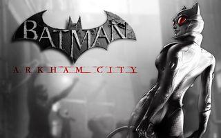 Заставки catwoman, логотип, arkham city