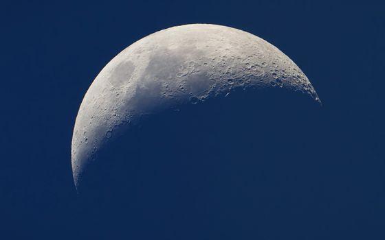 Фото бесплатно луна, тени, кратер