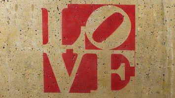 Фото бесплатно love, надпись, на стене