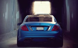 Photo free Mercedes, tires, tunnel