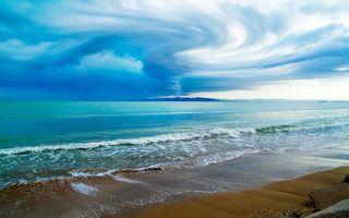 Бесплатные фото берег,песок,море,волны,горизонт,остров,небо