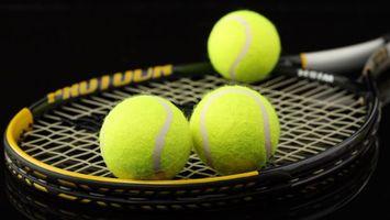Бесплатные фото большой,теннис,ракетки,сетка,мячи,спорт
