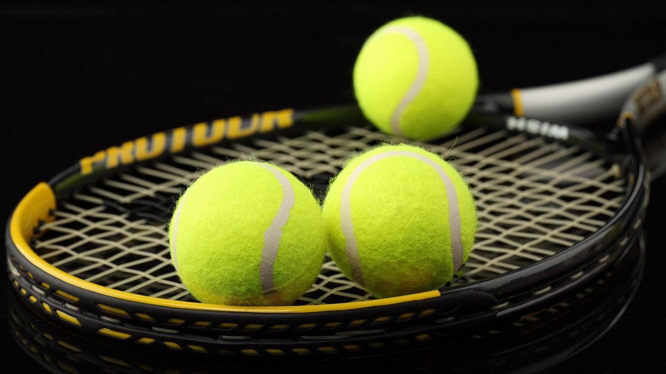 Фото бесплатно большой, теннис, ракетки, сетка, мячи, спорт, спорт