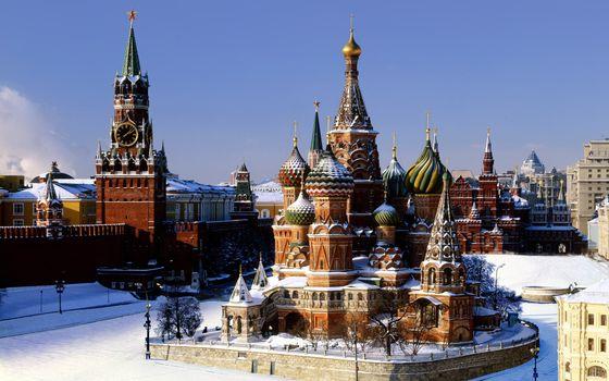 Фото бесплатно город, Кремль, дома