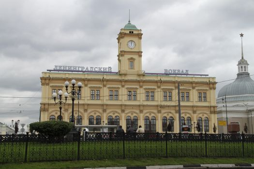 Фото бесплатно Москва, Ленинградский, вокзал