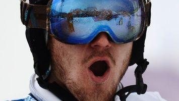 Photo free Olympiad, sportsman, helmet