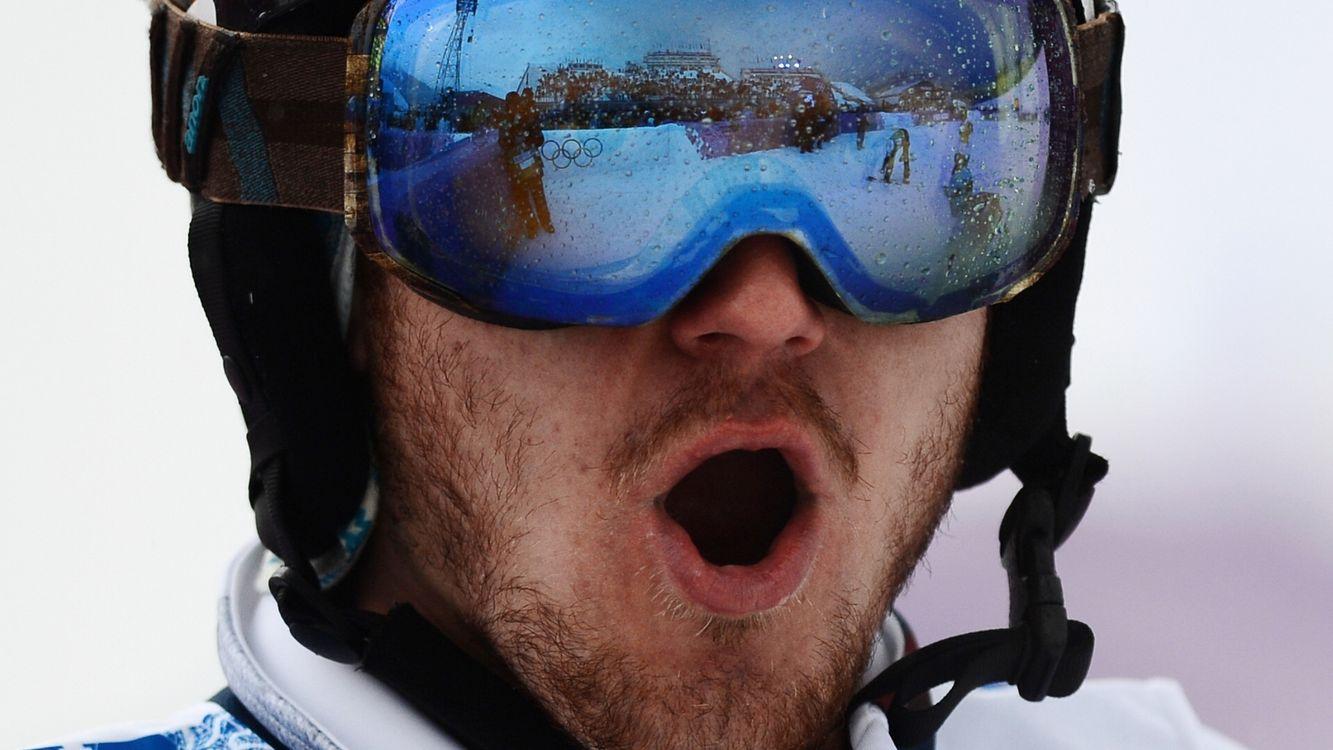 Фото бесплатно олимпиада, спорсмен, шлем, очки, отражение, радость, спорт, спорт