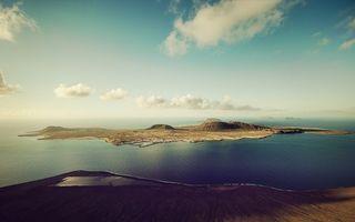 Фото бесплатно остров, море, небо