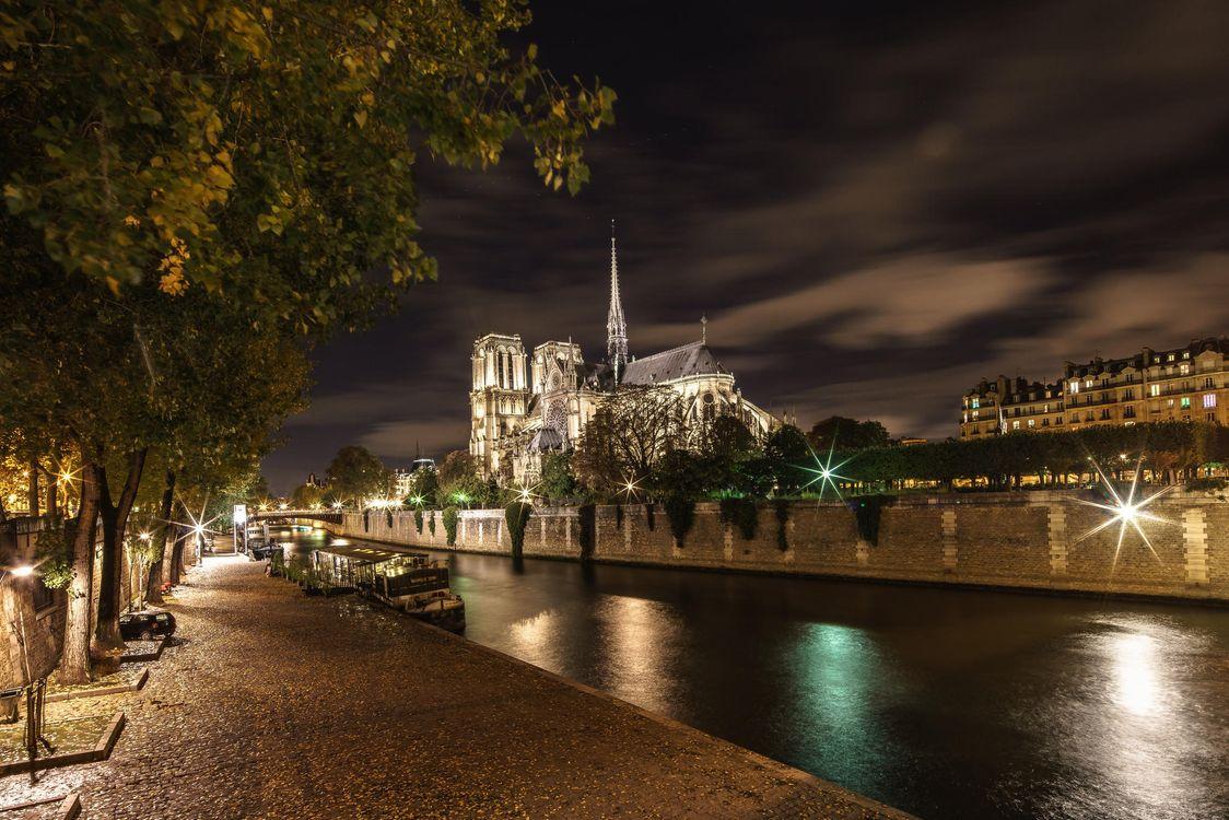 Фото бесплатно Paris, France, Париж, Франция, Собор Нотр-Дам де Пари, город